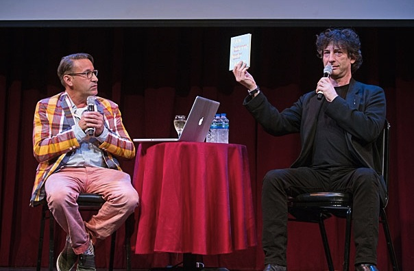 Chip Kidd & Neil Gaiman/ChipKidd.com
