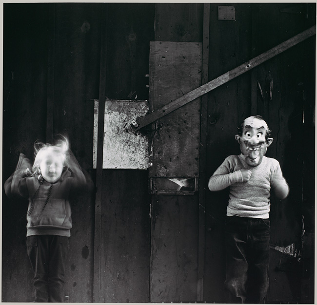 Ralph Eugene Meatyard, Occasions for Diriment, gelatin silver print, 1962. Courtesy of the Walker Art Center