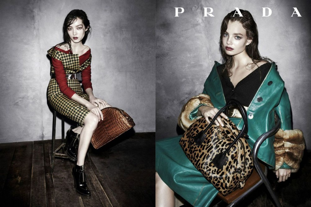 Prada fall campaign. Photos by Steven Meisel (c) Prada