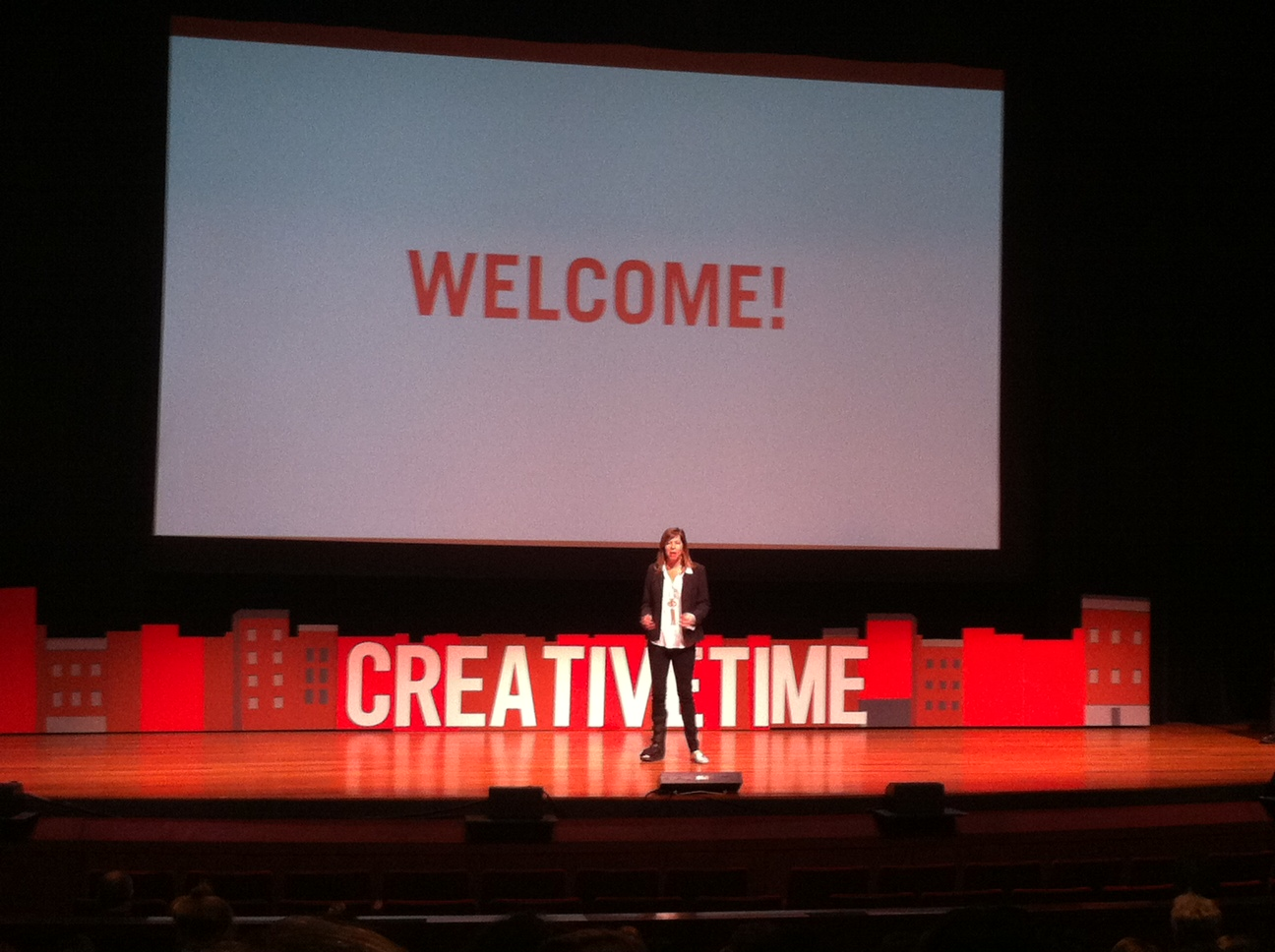 Photo from Creative Time Summit 2013 in NYC. Courtesy of the author.