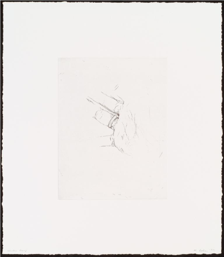 Robert Gober, Untitled, etching on paper, 1999. Courtesy of the Walker Art Center.