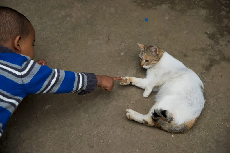 Jeffrey Skemp, Nahom and Cat: Addis Ababa, Ethiopia, 2014.