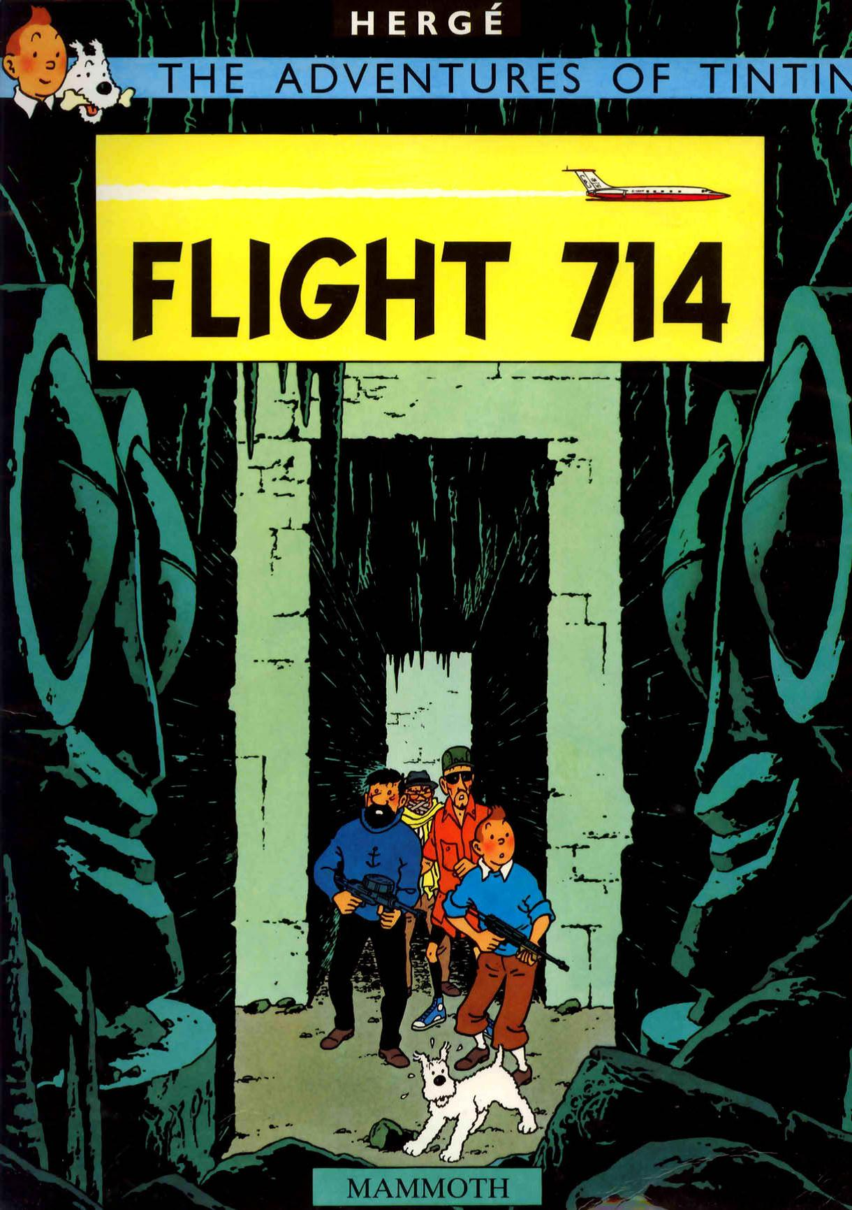 Flight 714, also known as Flight 714 to Sydney, is the twenty-second tale of The Adventures of Tintin released in 1968.