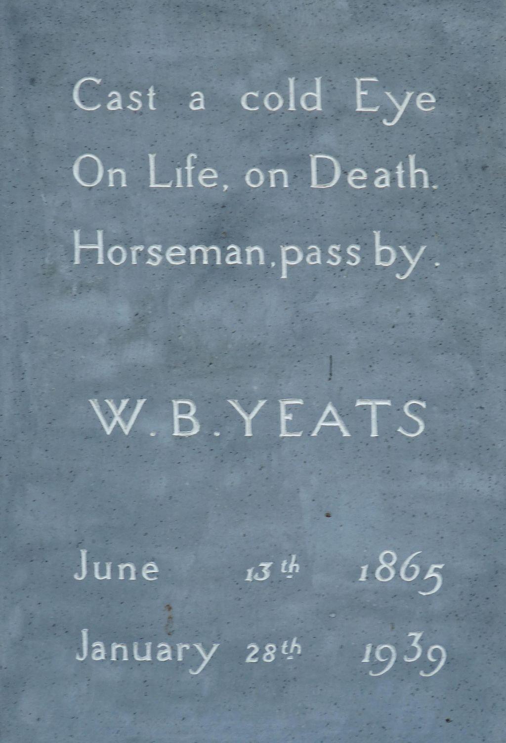 Yeats_Tombstone_(3585068950)