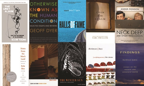 Graywolf Press essay collections