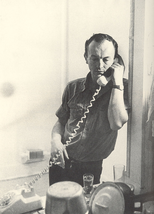 Frank O'Hara, 1965. Photo: Mario Schifano. Courtesy of Wikimedia