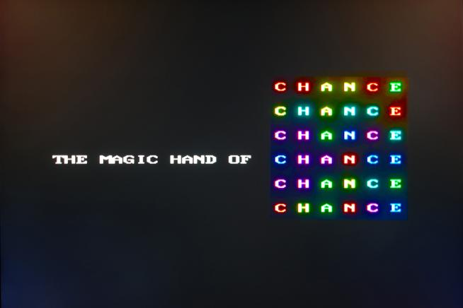 Roman Verostko, The Magic Hand of Chance