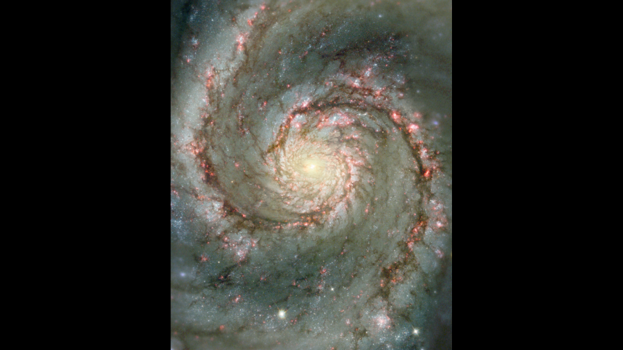 The Whirlpool Galaxy (NASA)