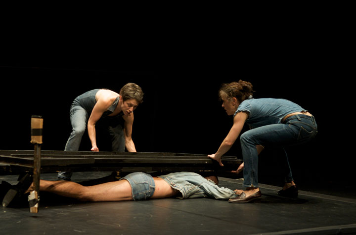 """smithsoniansmith (as is)"" at Bedlam Theatre Photo: Bill Starr, courtesy of the artists"