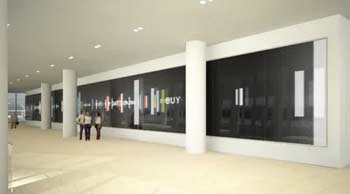 IAC video wall