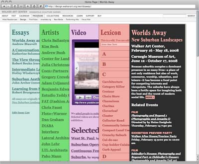 Worlds Away Website