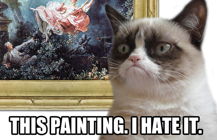 Grumpy Cat Critic