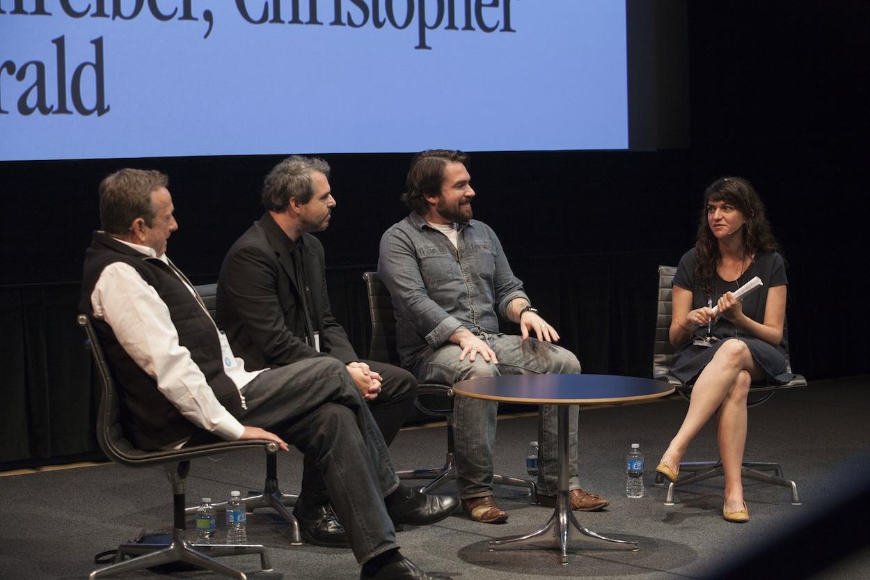 Christopher Knight, Ryan Schreiber, Isaac Fitzgerald, Orit Gat