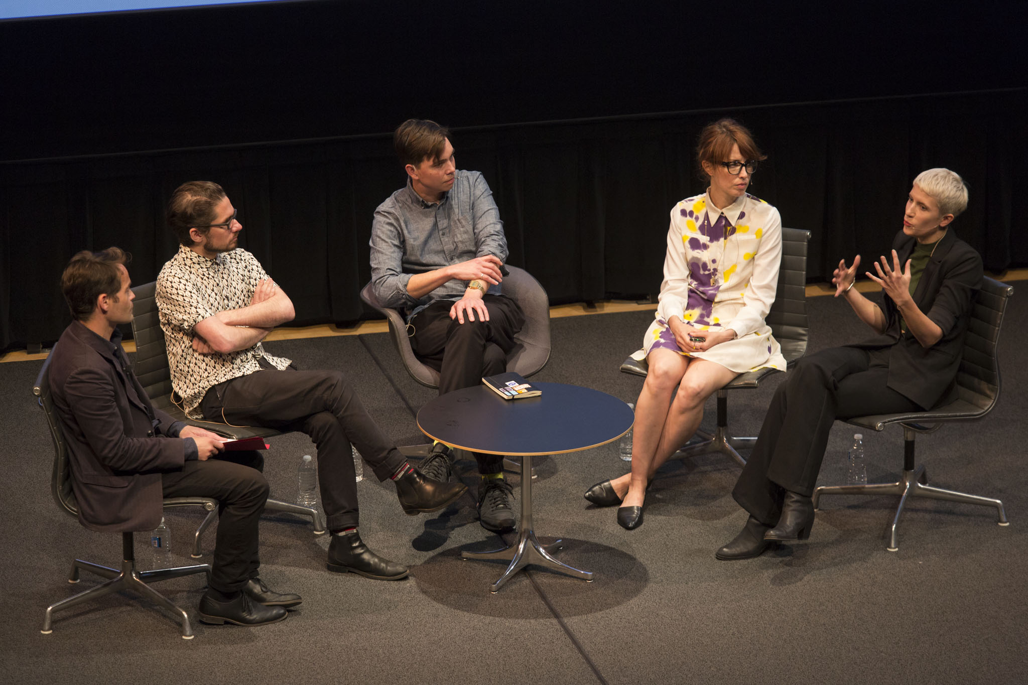 Fionn Meade, Dan Fox, James Bridle, Marisa Mazria-Katz, Claire Evans