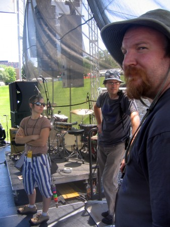 Backline crew or U2 album cover?