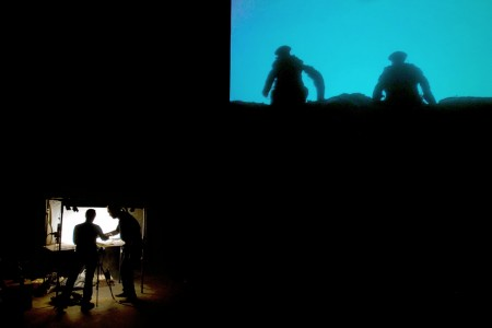 Image from Hotel Modern's performance The Great War