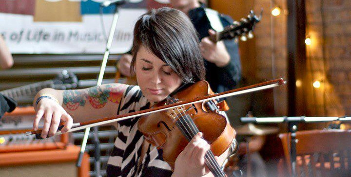 Erica Burton, Photo : facebook.com/Laurels.String.Quartet