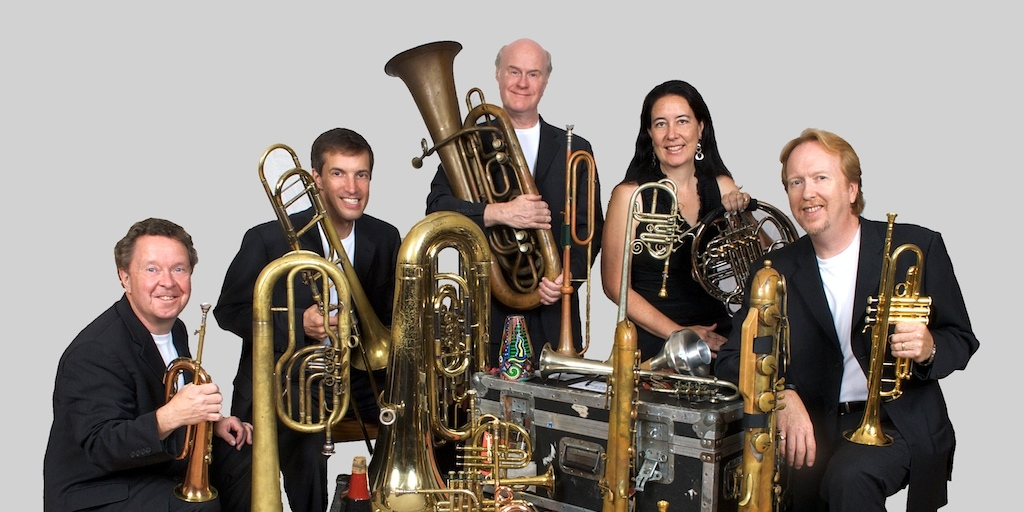 Larry Zimmerman (second from left) of Chestnut Brass Company, Photo: abelcentral.blogspot.com