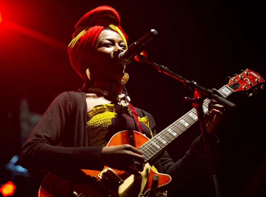 Fatoumata Diawara, Photo: Pedro A.Pina