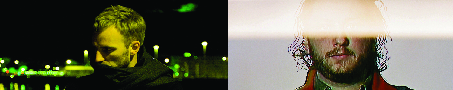 (left) Ben Frost. Photo: Bjarni Grímsson. (right) Tim Hecker/Oneohtrix Point Never. Photo: courtesy the artist