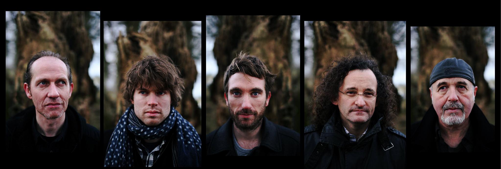 The Gloaming (left to right: Iarla Ó Lionáird, Thomas Bartlett, Caoimhin Ó Raghallaigh Martin Hayes, Dennis Cahill). Photo: Feargal Ward