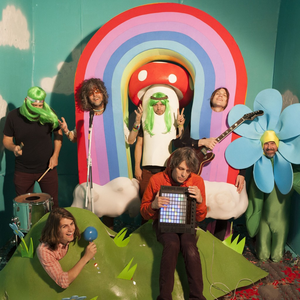 The Flaming Lips. Photo: George Salisbury