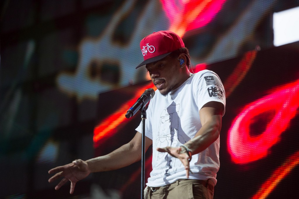 Chance the Rapper at the Pemberton Music Festival, 2014 Photo: Rob Loud, Flickr, used under Creative Commons license