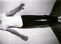 "Bruce Nauman, "" Bouncing in the Corner,"" 1968 (3)"