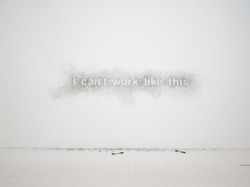 Natascha Sadr Haghighian's I can't work like this