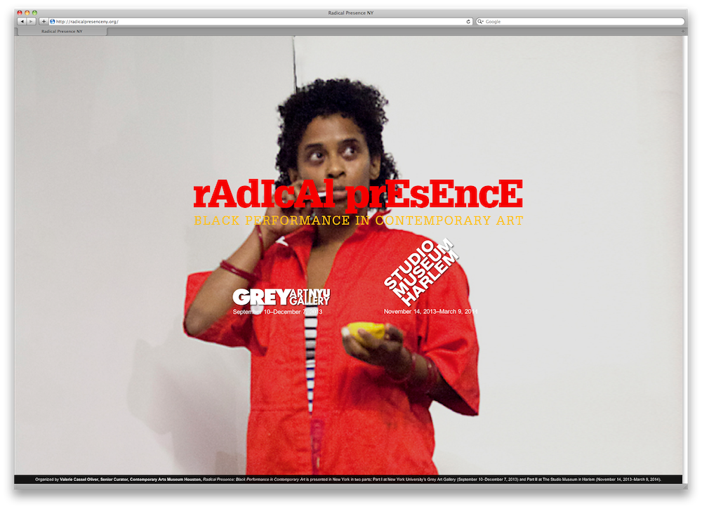 Tamika Norris, featured on the homepage of RadicalPresenceNY.org