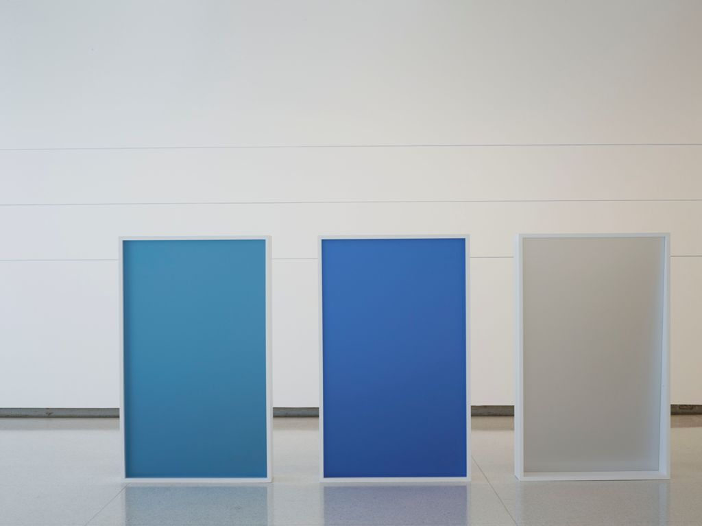 Installation view of Liz Deschenes: Gallery 7