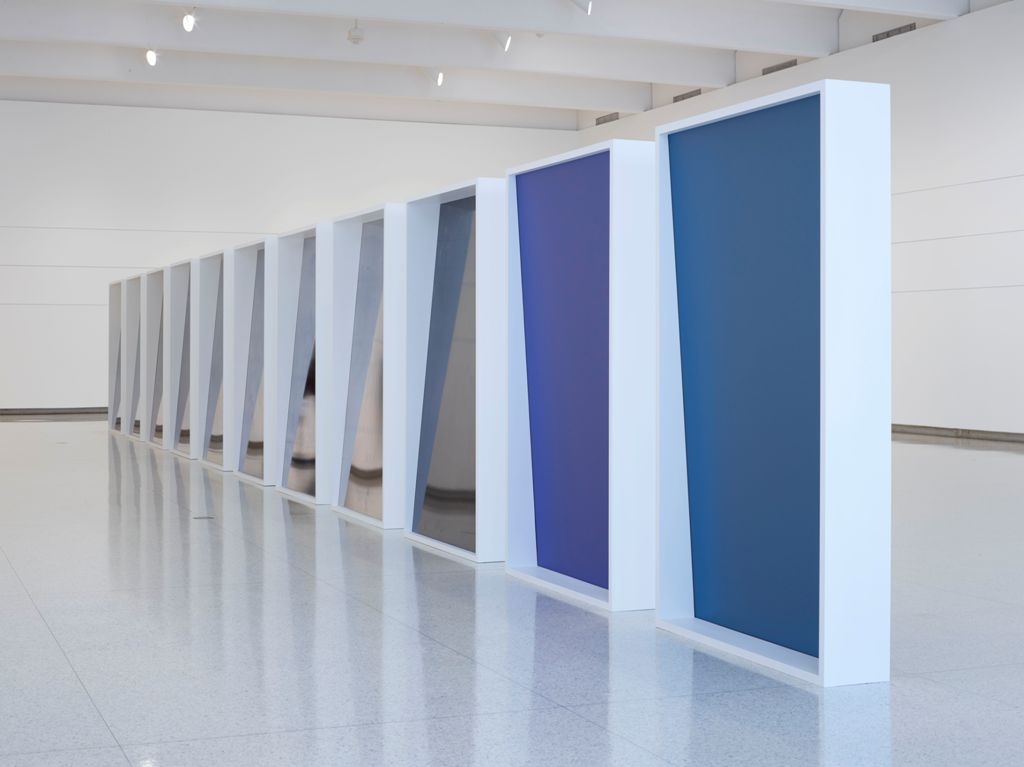 Installation view of the exhibition Liz Deschenes: Gallery 7, Walker Art Center, November 2014