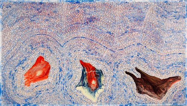 Jack Whitten, Zeitgeist Traps, For Michael Goldberg, Zeitgeist Traps for Michael Goldberg 2009 acrylic on canvas