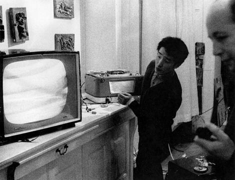 Nam June Paik, 'Kuba-TV' (1963) seen as part of Exposition of Music – Electronic Television. © Nam June Paik