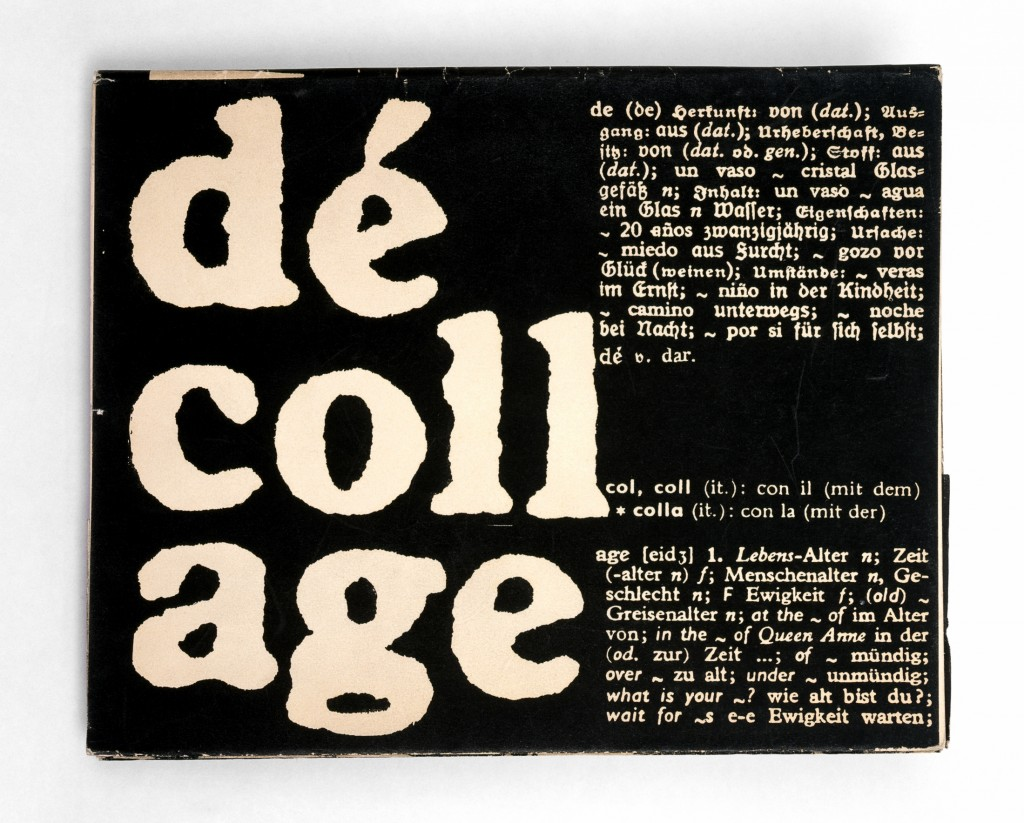 Wolf Vostell, Dé-collage (1962), Offset lithograph on paper, Copyright retained by the artist, Courtesy Walker Art Center
