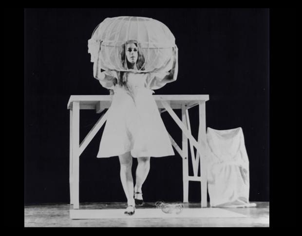 Meredith Monk, 16 Millimeter Earrings, 1966, performance