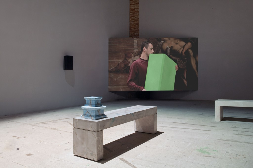 Shahryar Nashat, Factor Green, installation view, 54th International Venice Biennial, 2011. Courtesy of Rodeo, London; Silberkuppe, Berlin. Photo: Gaëtan Malaparte