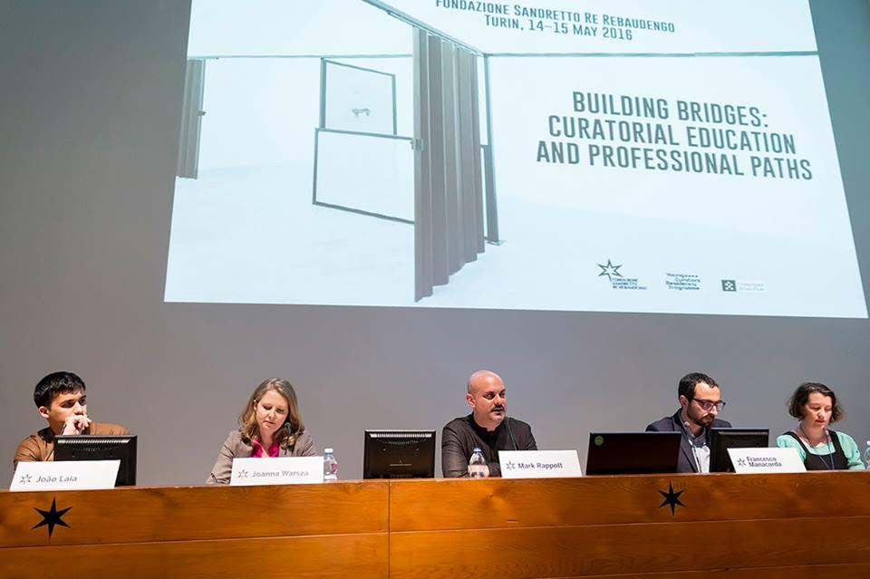 João Laia, Joanna Warsza, Mark Rappolt, Francesco Manacorda, Kate Strain