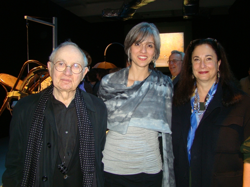 Martin Friedman with current Walker director Olga Viso and former director Kathy Halbreich, 2011