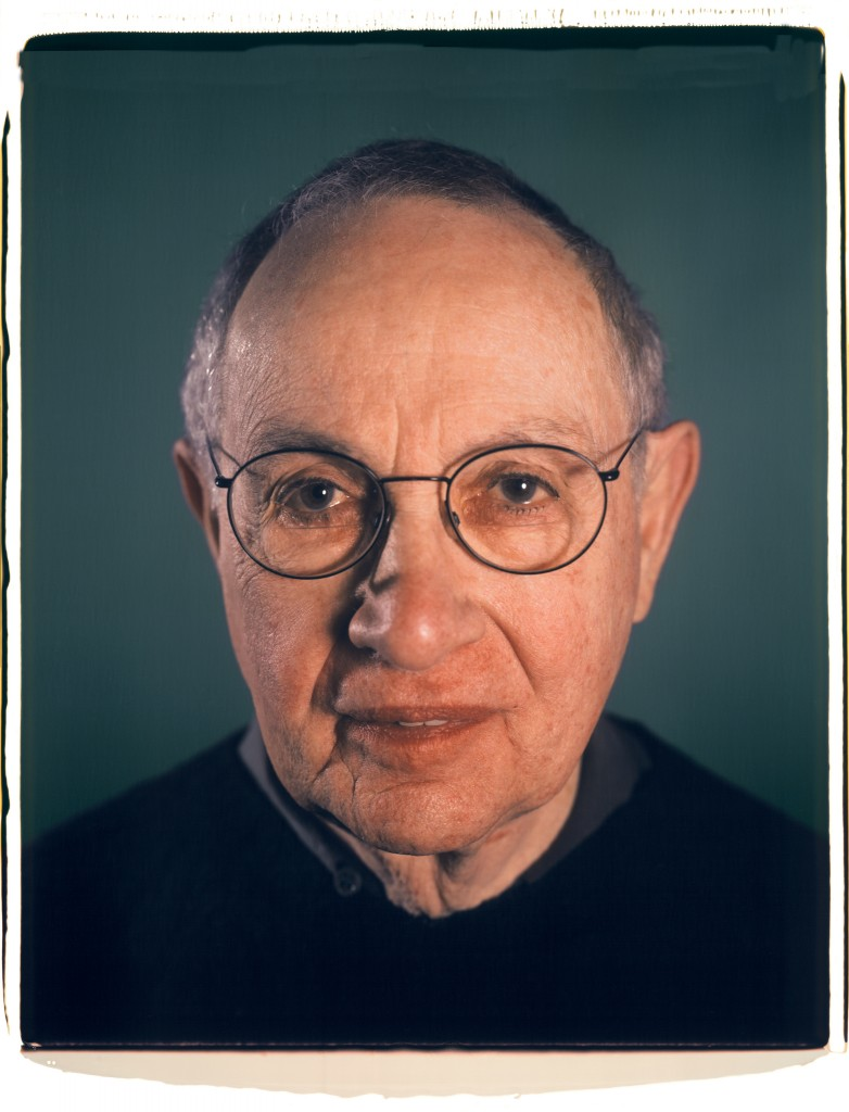 "Martin Friedman a Polaroid that Chuck took of Martin for the jacket of his ""Close Reading: Chuck Close and the Artist Portrait"" book."