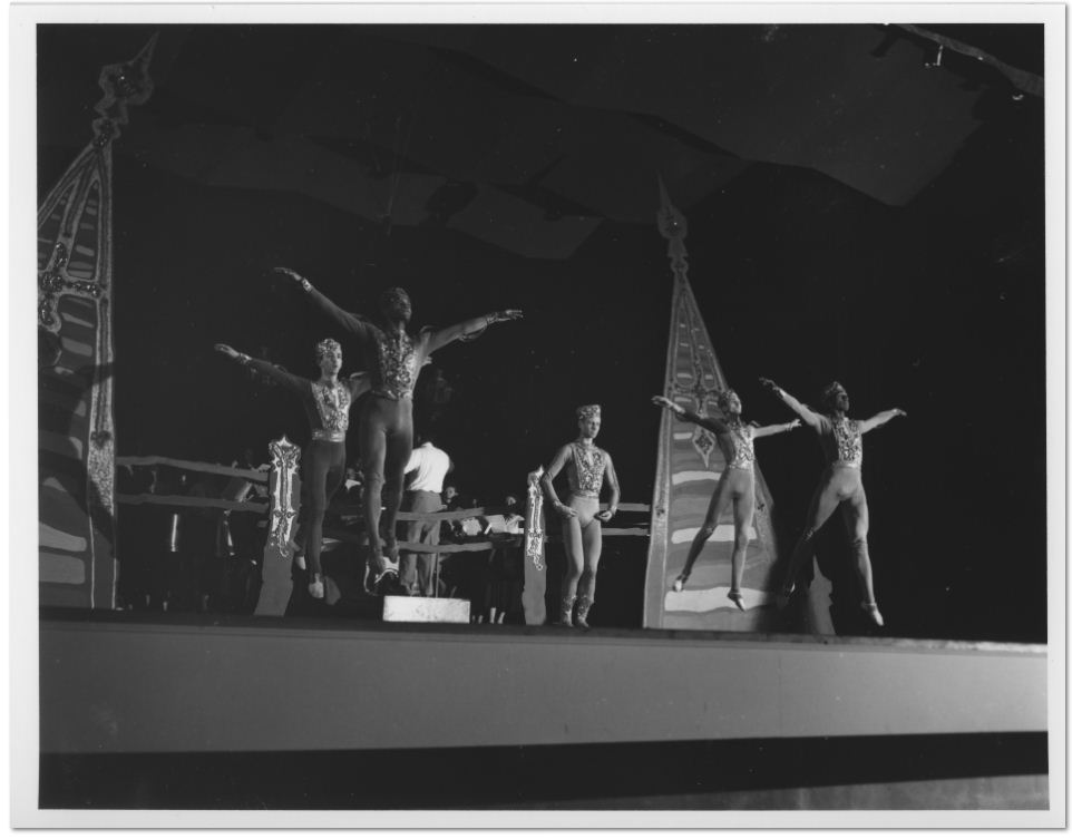 Merce Cunningham and Brandeis University Dancers in Les Noces, June 12, 1952