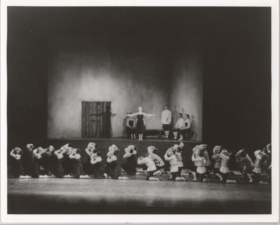 Les Noces, Teatro Colón, Buenos Aires, 1923, Music Division, Library of Congress