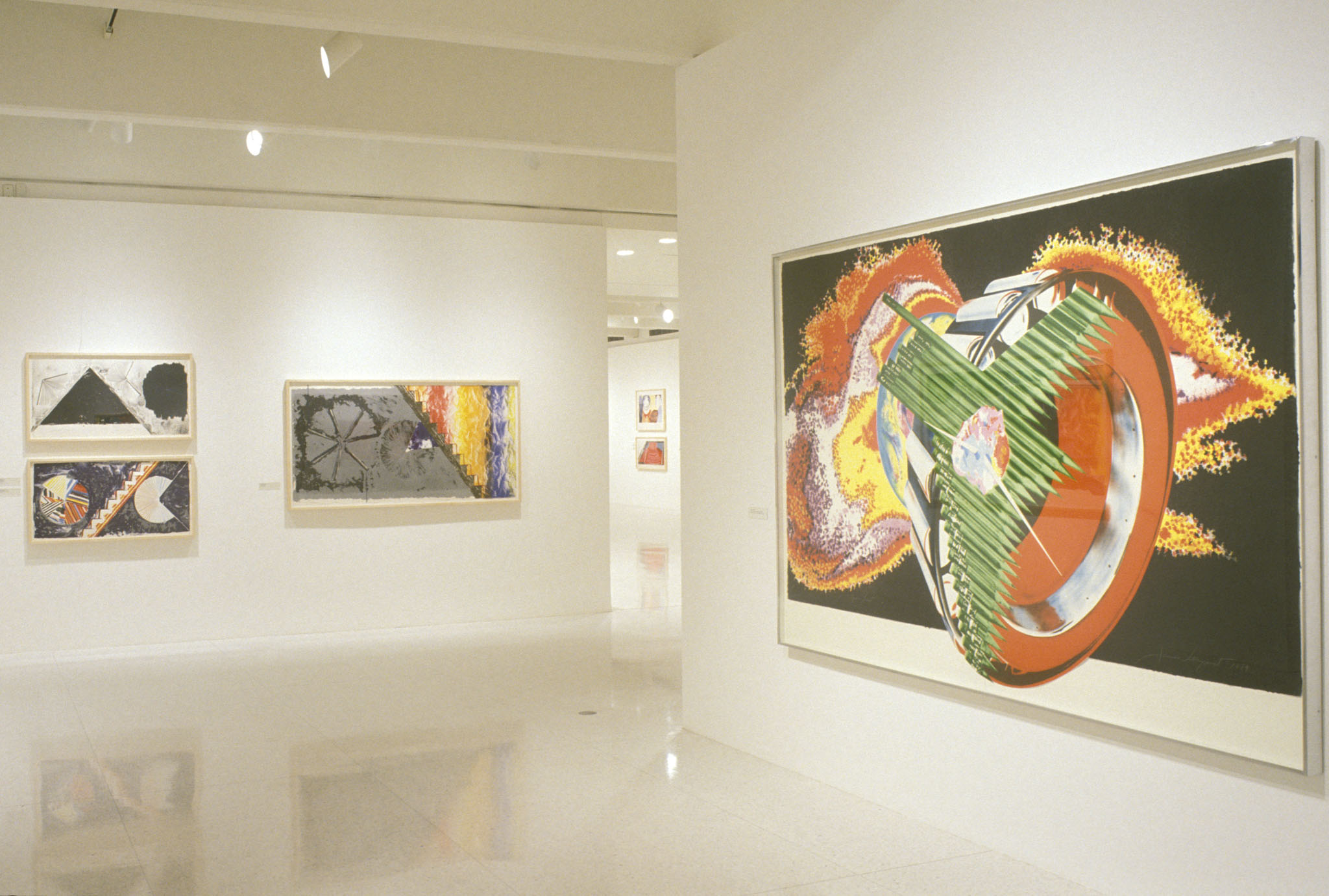 EX1993jr_ins James Rosenquist:Time Dust, The Complete Graphics 1962-1992 Mar 7- May 9, 1993 disc location: 161.ex_b