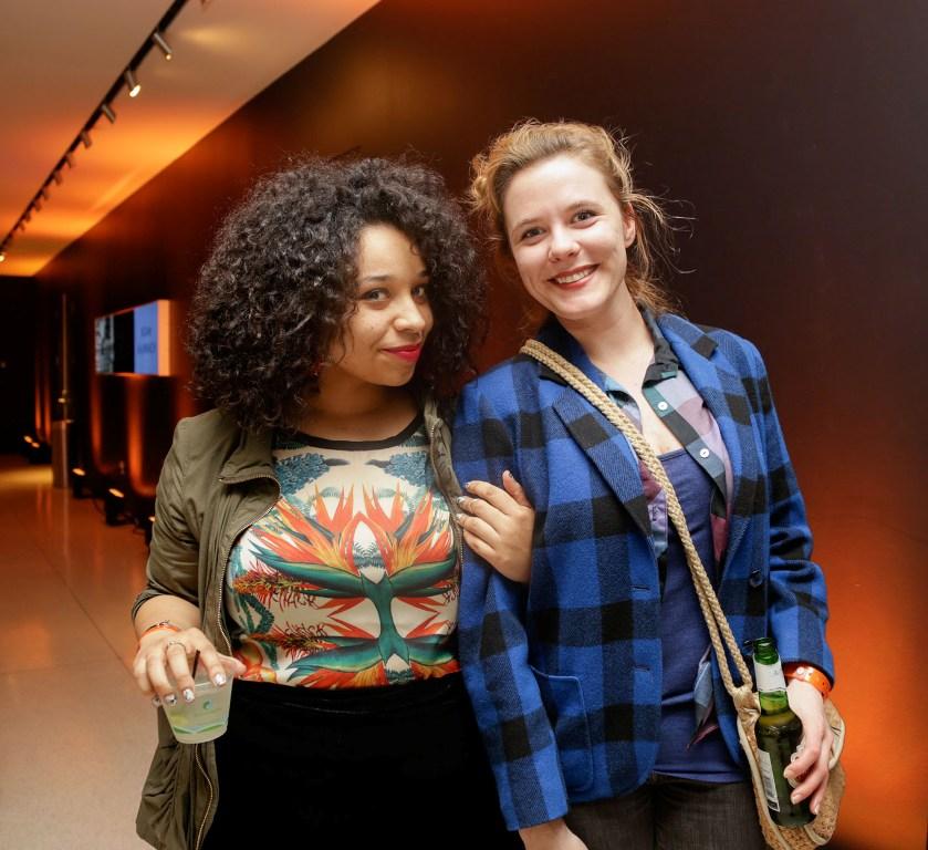 Amalia Nicholson and Hannah Haugberg