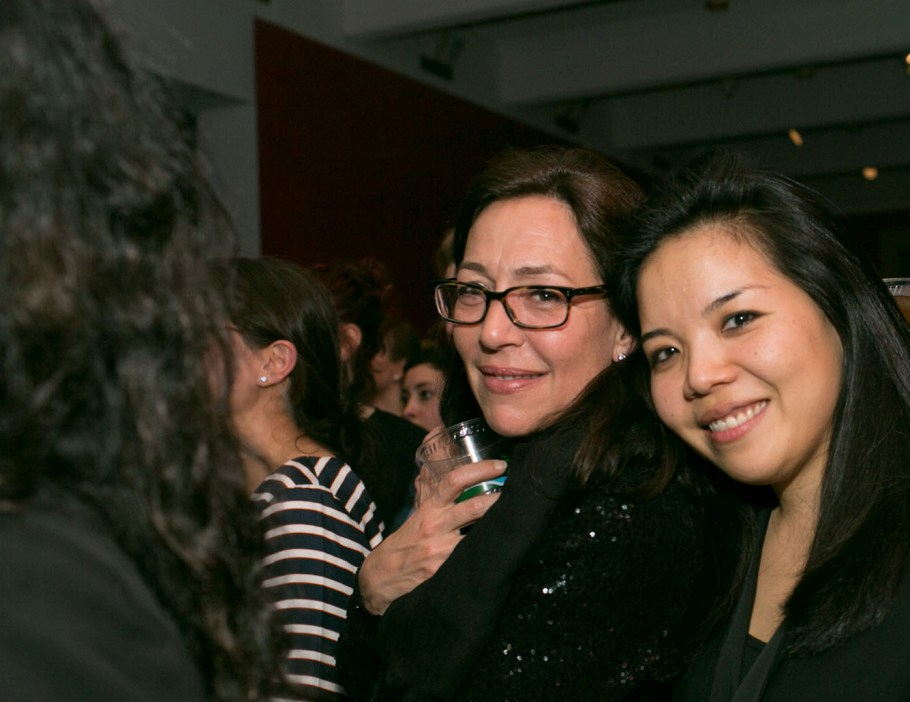 Shaun Regen and Walker Senior Curator Clara Kim