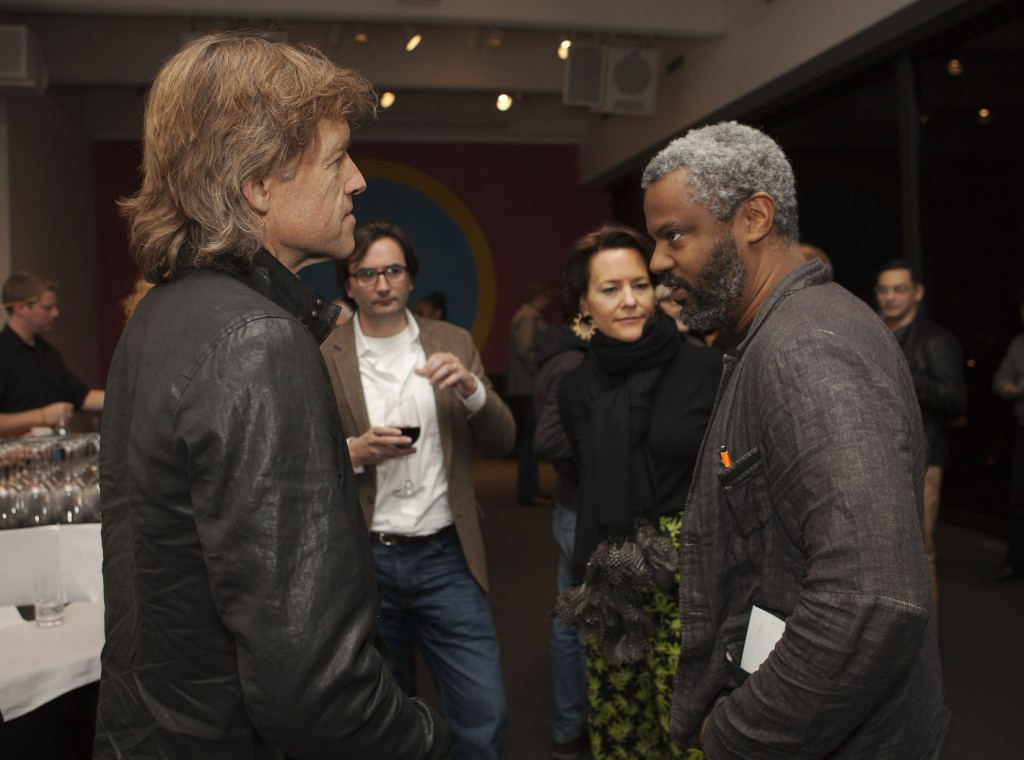 Bill Pohlad and Hamza Walker. Pohlad was one of the producers of 12 Years a Slave, and Walker is associate curator at the University of Chicago's Renaissance Society.