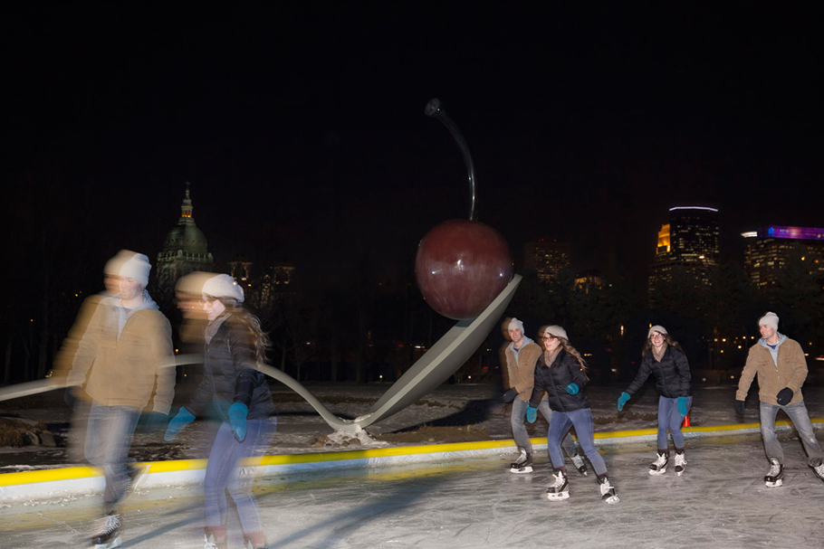 Skaters by Spoonbridge