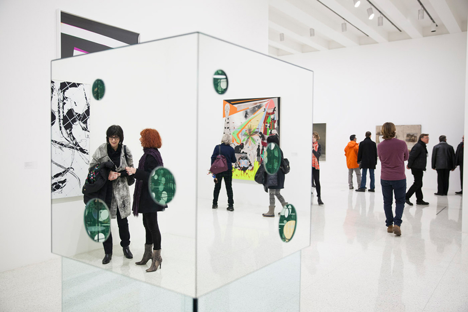 Yaoyi Kusama's Passing Winter is back in the galleries, this time part of the 75 Gifts for 75 Years exhibition.