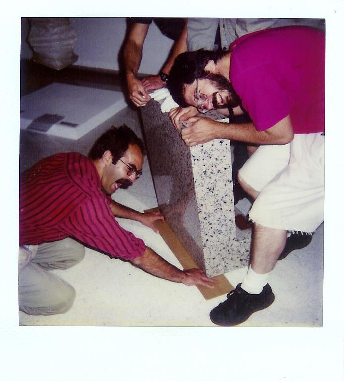 Richard Parnell and Willie Willette, Walker Art Center, 1993