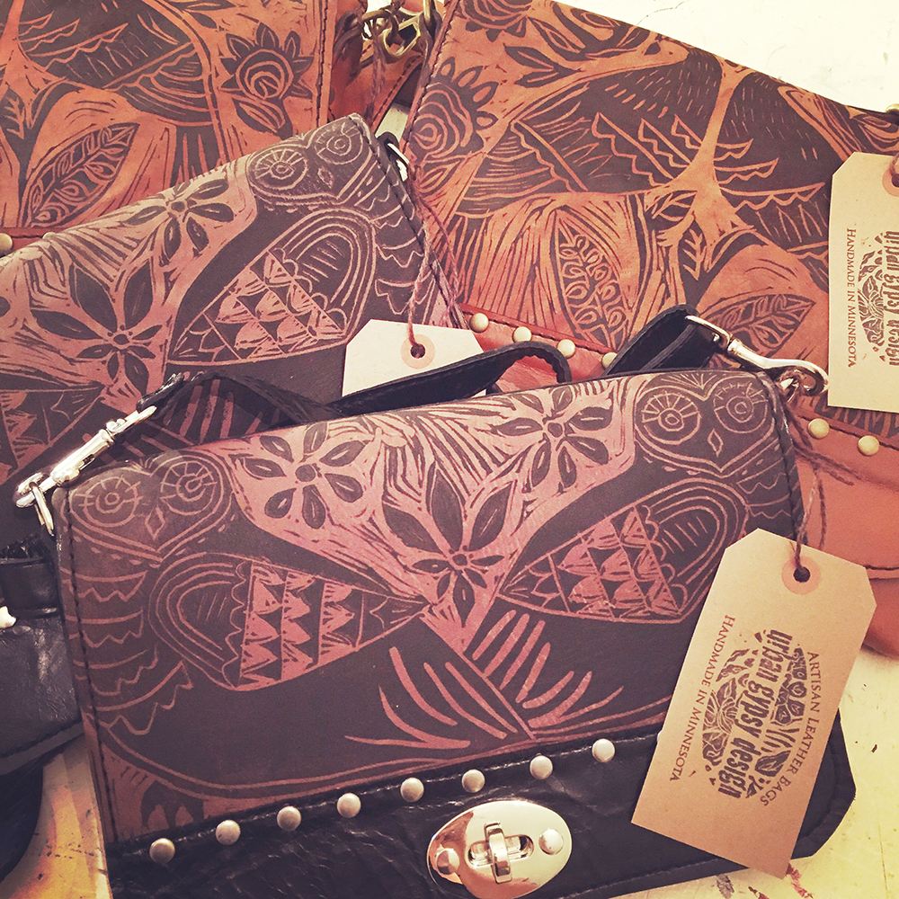 Urban Gypsy Design hand-crafted leather bags